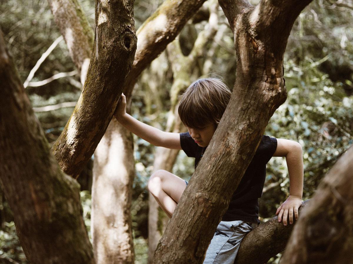 Kinder brauchen selbstbestimmte Aktivitäten, wie Klettern oder Rumhängen. Schulkindbetreuung muss das bieten.