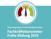 Titelbild Fachkräftebarometers 2019