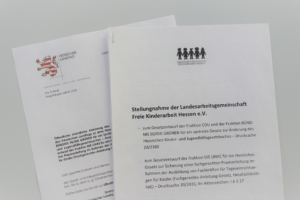 Anhörung Umsetzung Gute-Kita-Vertrag im HKJGB, neue Qualitätsstandards