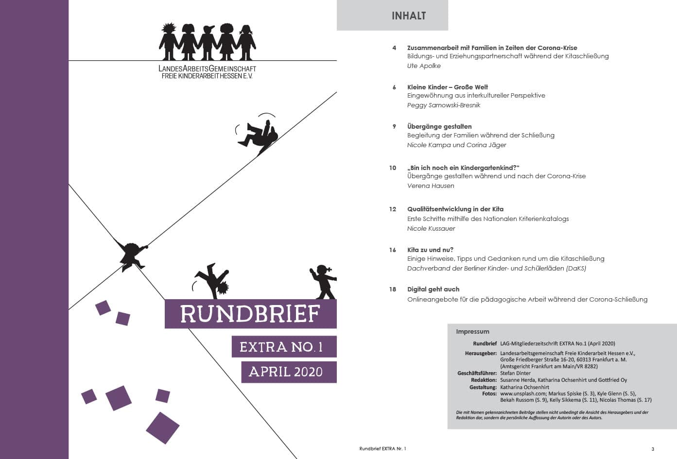 LAG Rundbrief Extra No1. 2020